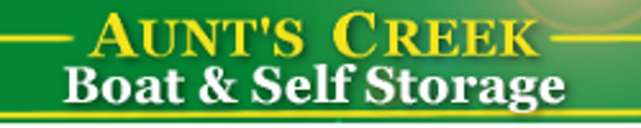Aunts Creek Self Storage Logo